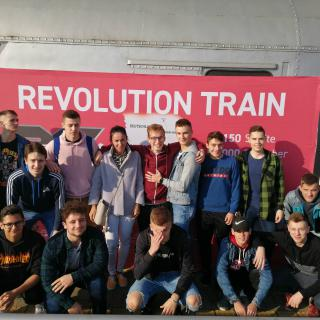 Protidrogový vlak – Revolution train