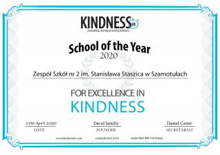 Kind Overseas School of the Year